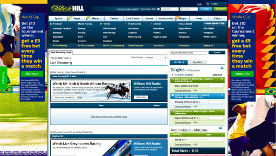 William Hill Free Bet & User Review
