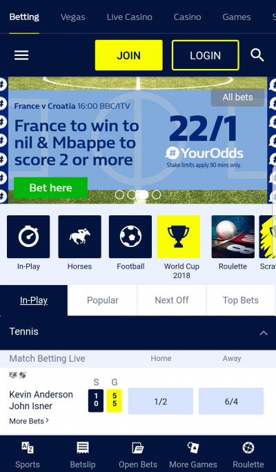 William Hill android app screenshot-2
