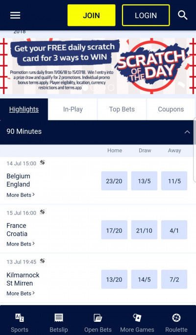 William Hill android app screenshot-3