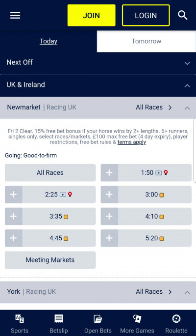 William Hill android app screenshot-4