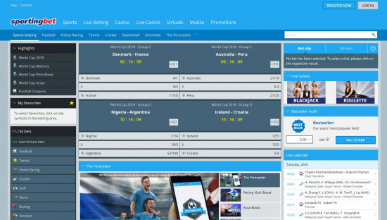 Sportingbet desktop screenshot-2