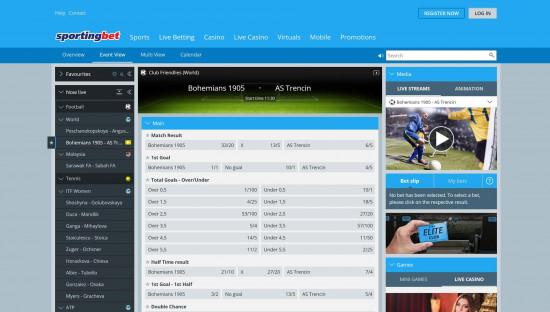 Sportingbet desktop screenshot-3