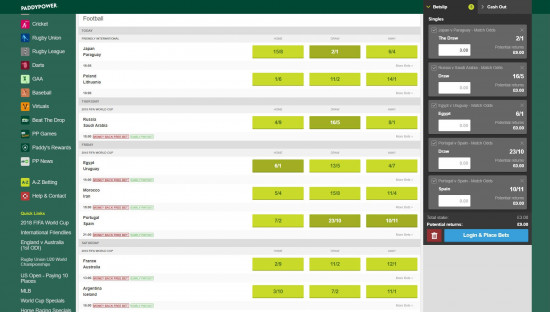 Paddy power live betting rules choice music prize betting on sports