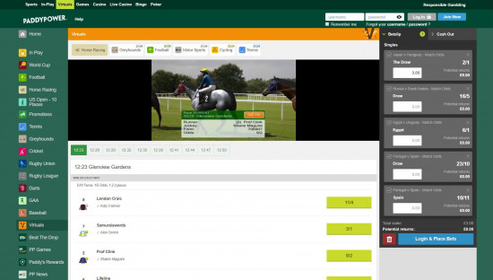 Paddy power live betting rules sure betting system