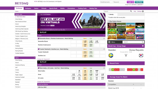 BetDaq desktop screenshot-1