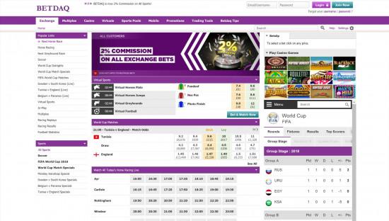 BetDaq desktop screenshot-2