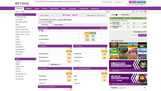 BetDaq desktop screenshot-5