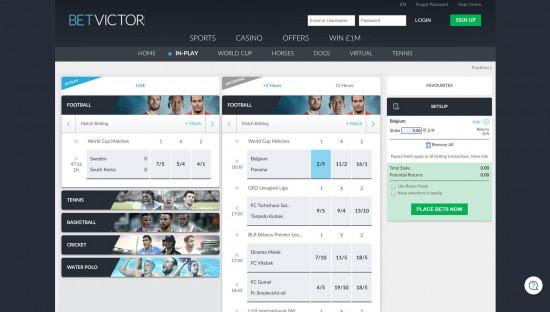 BetVictor desktop screenshot-2