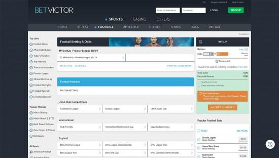 BetVictor desktop screenshot-4