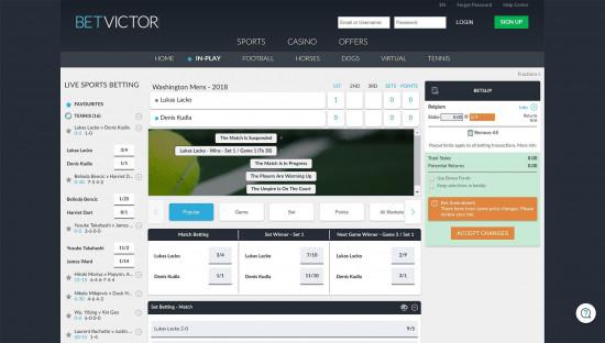 BetVictor desktop screenshot-5