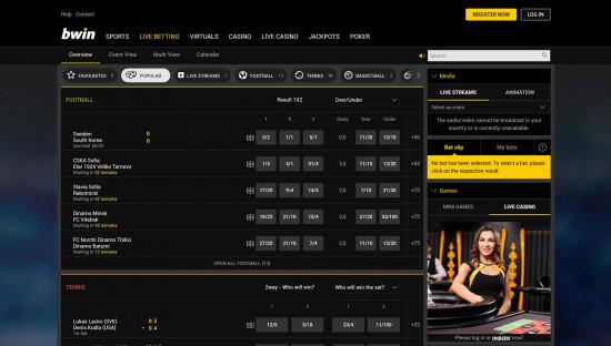 BWin desktop screenshot-2