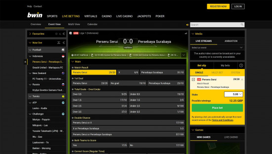 Can i place bet on bwin from usas how to bet on pro football at a sportsbook