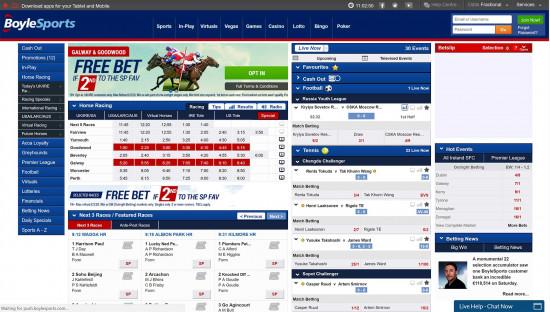 boylesports betting euro 2021 standings