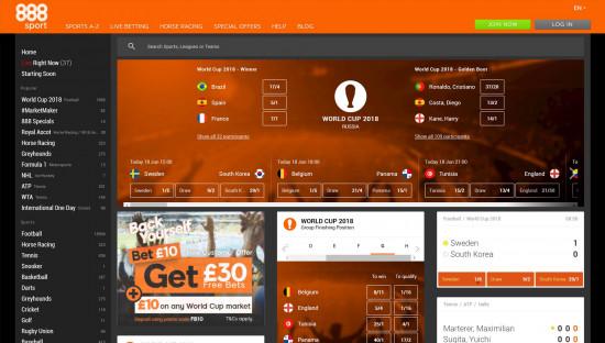 888Sport desktop screenshot-1