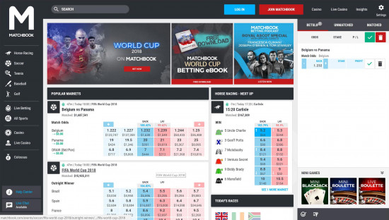 Matchbook desktop screenshot-2