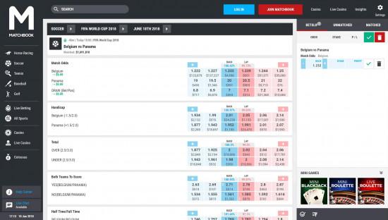 Matchbook desktop screenshot-3