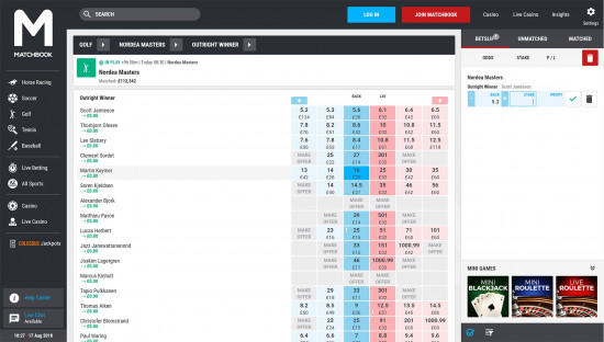 Matchbook desktop screenshot-4