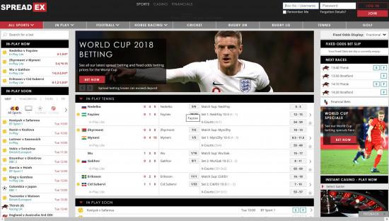 Spreadex desktop screenshot-1