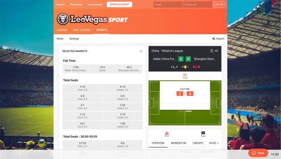 LeoVegas desktop screenshot-5