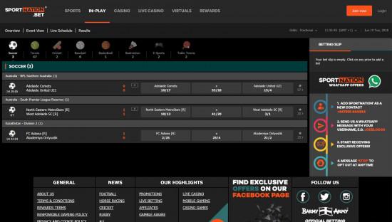 SportNation desktop screenshot-1