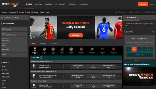 SportNation desktop screenshot-2