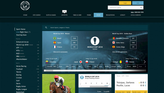 GrosvenorSport desktop screenshot-1