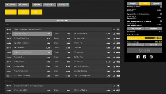 Energy Bet desktop screenshot-3