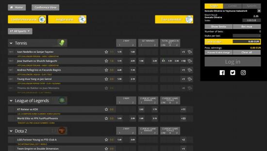 Energy Bet desktop screenshot-4