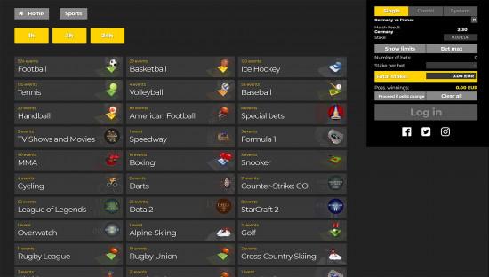 Energy Bet desktop screenshot-5