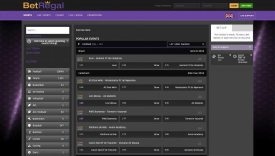BetRegal desktop screenshot-1