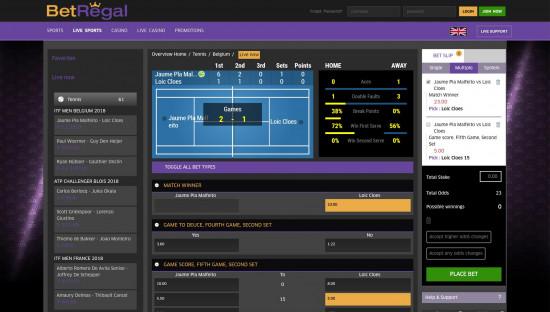 BetRegal desktop screenshot-3