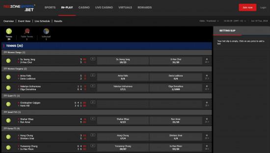 RedZoneSports desktop screenshot-1