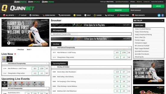 QuinnBet desktop screenshot-3
