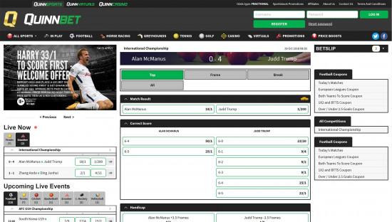 QuinnBet desktop screenshot-4
