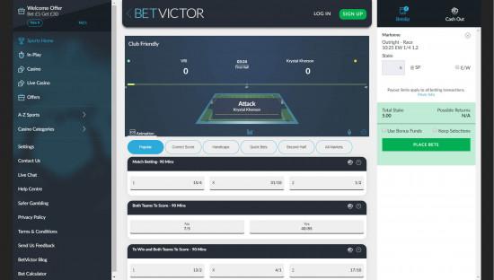BetVictor desktop screenshot-3