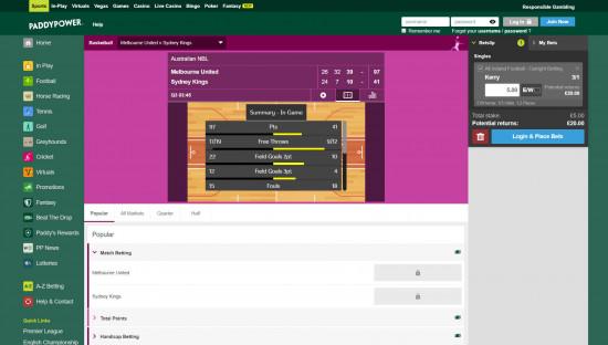 Paddy Power desktop screenshot-4
