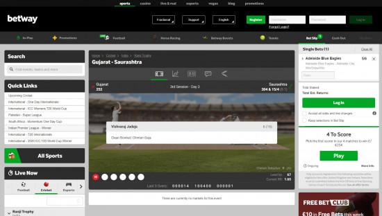 Betway desktop screenshot-2