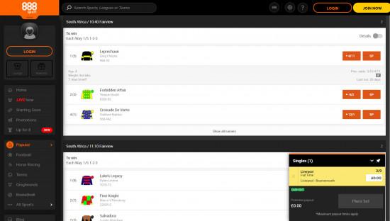 888Sport desktop screenshot-5