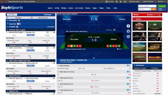 BoyleSports desktop screenshot-3
