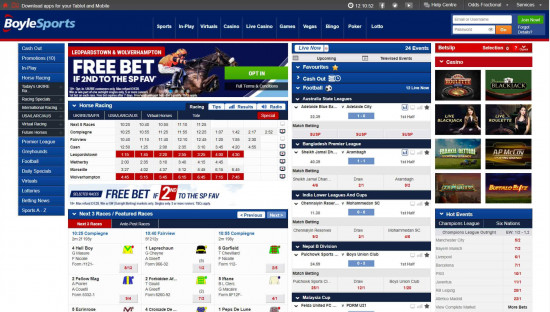 BoyleSports desktop screenshot-4