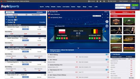 BoyleSports desktop screenshot-5