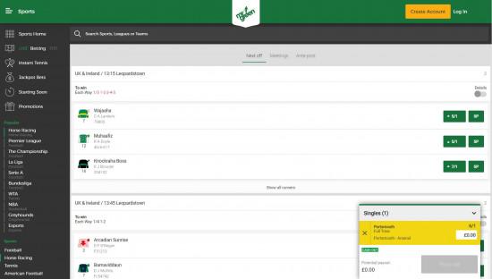 Mr Green desktop screenshot-3