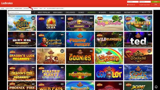 Ladbrokes Casino desktop screenshot-3