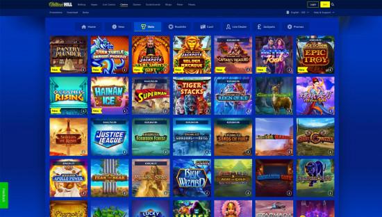 William Hill Casino desktop screenshot-5