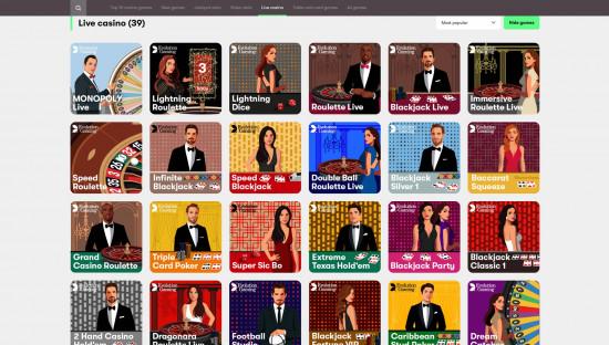 10bet Casino desktop screenshot-5