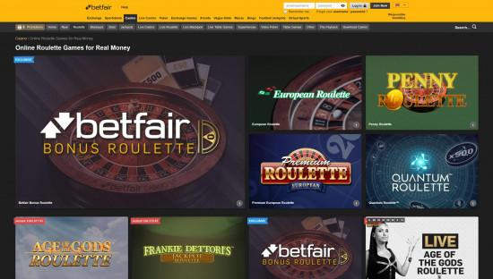 Betfair Casino desktop screenshot-4