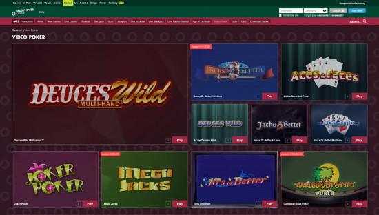 Paddy Power Casino desktop screenshot-1