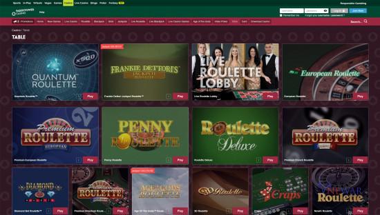 Paddy Power Casino desktop screenshot-2