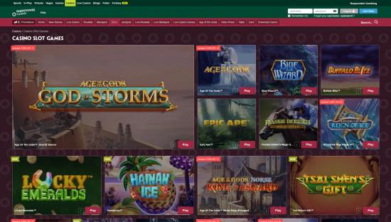 Paddy Power Casino desktop screenshot-5