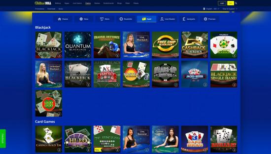 William Hill Casino desktop screenshot-3